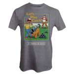 Steven Rhodes - Let's Play Catch T-Shirt - S - Packshot 1