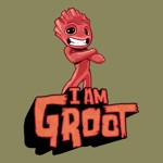Marvel - Guardians of the Galaxy - I Am Groot T-Shirt - XXL - Packshot 2