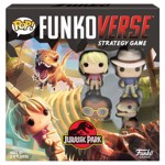Funkoverse - Jurassic Park Funkoverse Strategy Game 4-Pack - Packshot 1