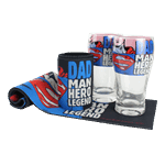 "DC Comics - Superman ""Dad Man Hero Legend"" Bar Gift Set - Packshot 1"
