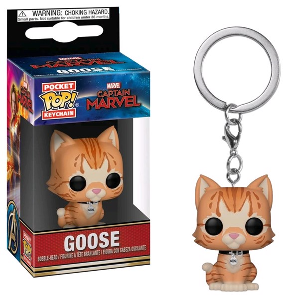 Marvel - Captain Marvel - Goose the Cat Pocket Pop! Keychain - Packshot 1
