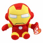 Marvel - Iron Man - Beanie Baby Plush - Packshot 1