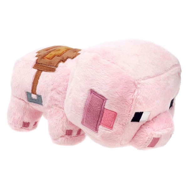 Minecraft - Saddled Pig Plush - Packshot 1