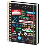 Friends - Hardcover Spiral A5 Notebook - Packshot 1
