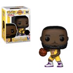 NBA: Lakers - LeBron James Yellow Uniform Pop! Vinyl  - Packshot 1