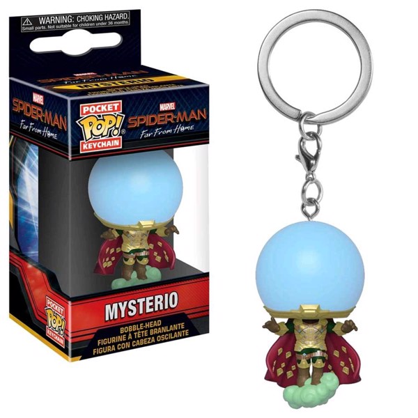 Marvel - Spider-Man: Far From Home - Mysterio Pocket Pop! Keychain - Packshot 1