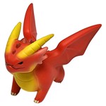 Dungeons & Dragons - Red Dragon Adorable Power Figure - Packshot 3