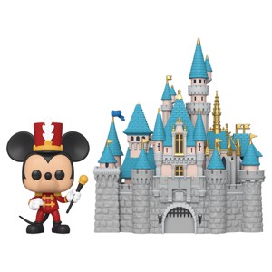 Disney - Disneyland 65th Anniversary Bandleader Mickey Mouse with Castle Pop! Town - Toys & Gadgets