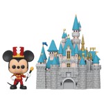 Disney - Disneyland 65th Anniversary Bandleader Mickey Mouse with Castle Pop! Town - Packshot 1
