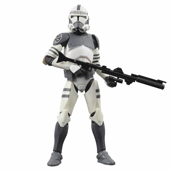 "Star Wars - The Clone Wars - The Black Series Kamino Trooper 6"" Figure - Packshot 1"