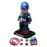 Marvel - The Avengers: Age of Ultron - Captain America Egg Attack 15cm Action Figure - Packshot 2