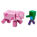 Minecraft - LEGO BigFig Pig with Baby Zombie - Packshot 2