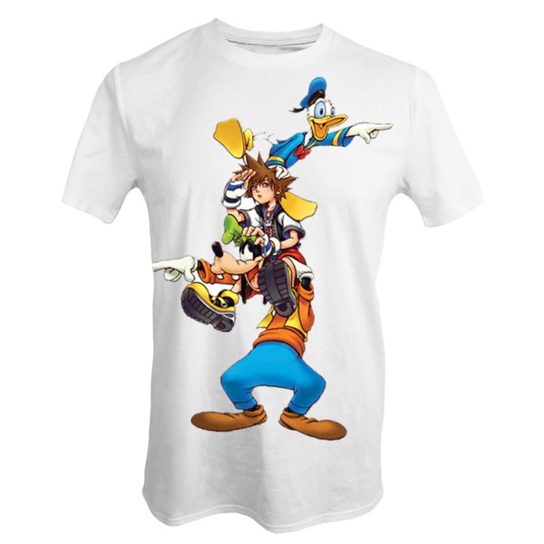 Kingdom Hearts III - Searching T-Shirt - L - Packshot 1