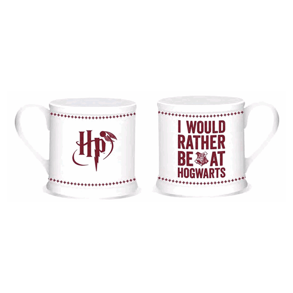 Harry Potter - Hogwarts Slogan Vintage Mug - Packshot 2