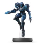 Nintendo amiibo (Super Smash Bros.) - Dark Samus Metroid Character Figure - Packshot 1