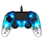 Nacon PS4 Illuminated Wired Gaming Controller - Light Blue - Packshot 2