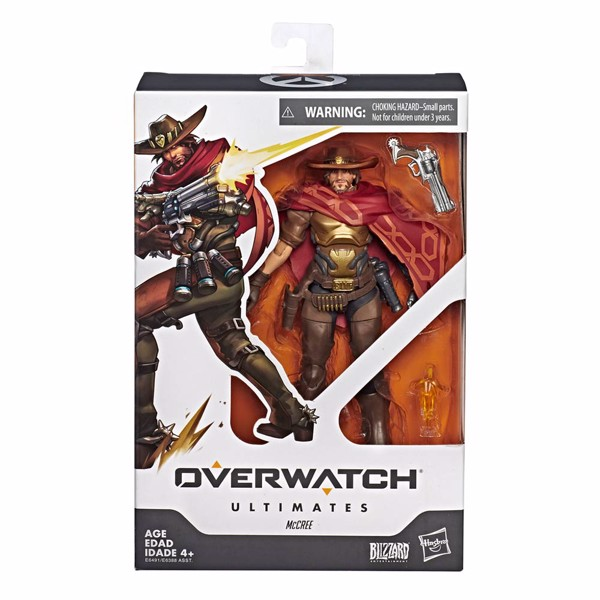 Overwatch - McCree Action Figure - Packshot 1