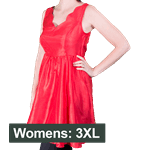 Star Trek - Bardot Party Dress Women's Dress - Red - Size: 3XL - Packshot 1