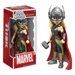"Marvel - Thor - Lady Thor Rock Candy 5"" Vinyl Figure - Packshot 1"