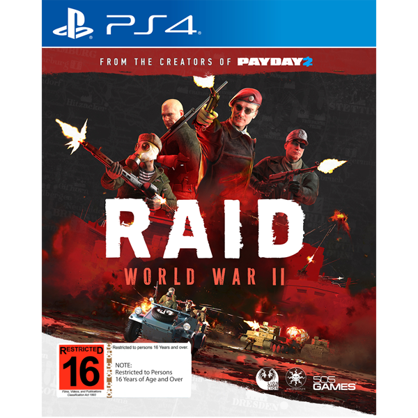 RAID: World War II - Packshot 1