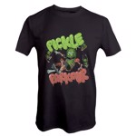 Rick and Morty - Pickle Parkour Grey T-Shirt - Packshot 1