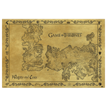 Game of Thrones - Antique Map Poster - Packshot 1