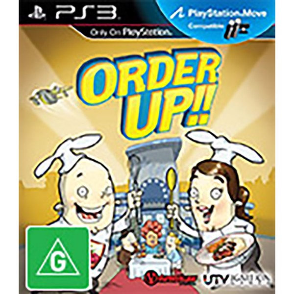 Order Up!! - Packshot 1