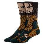 DC Comics - Justice League - Aquaman Character Crew Socks - Packshot 1