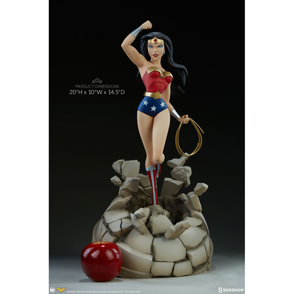 DC Comics - Justice League - Wonder Woman Statue - Packshot 6