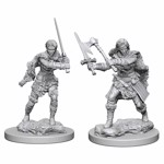 Dungeons & Dragons - Nolzur's Marvelous Miniatures - Human Female Barbarian - Packshot 1