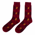 DC Comics - The Flash Argyle Pattern Socks - Packshot 1