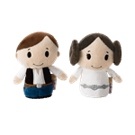 Star Wars - Leia and Han Solo Itty Bitty 2-Pack Plush - Packshot 1