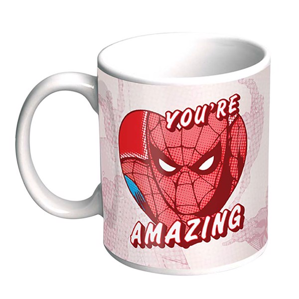 Marvel - Spiderman Valentine's Mug - Packshot 1