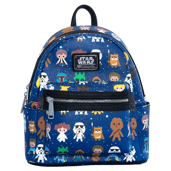 69527d82546b Star Wars - Chibi Characters Loungefly Mini Backpack - EB Games ...