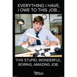 The Office - Jim Halpert Quote Poster - Packshot 1