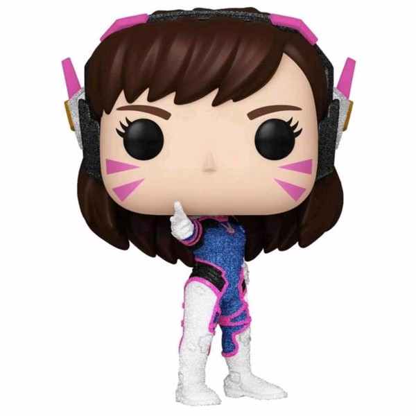 Overwatch - D.Va Diamond Glitter Pop! Vinyl Figure - Packshot 1