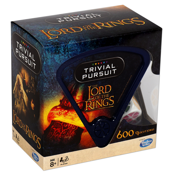 Lord of the Rings - Bitesize Trivial Pursuit Card Game - Packshot 1