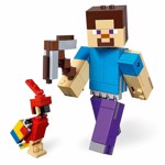 Minecraft - LEGO Steve BigFig with Parrot - Packshot 2