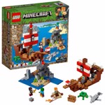 Minecraft - LEGO The Pirate Ship Adventure - Packshot 1