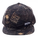 Harry Potter - Marauders Map All Over Pattern Cap - Packshot 1