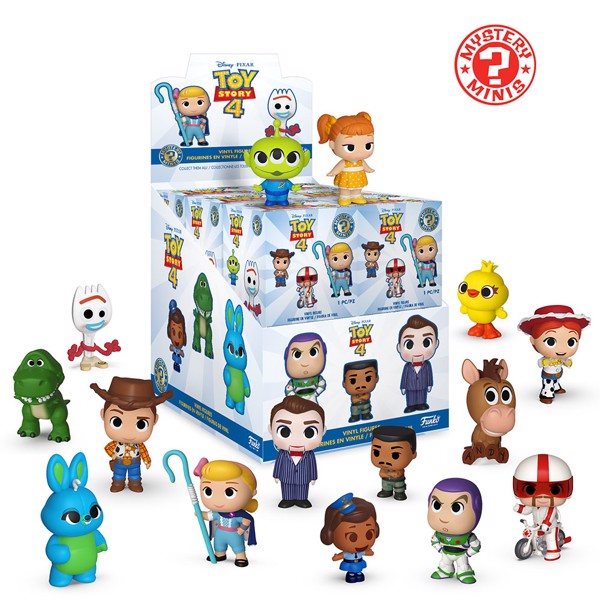 Disney - Toy Story 4 - Mystery Minis Blind Box Figure (Single Figure) - Packshot 1