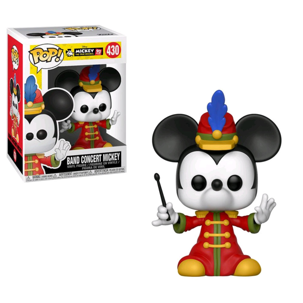 Disney - Mickey Mouse - 90th Anniversary Concert Mickey Pop! Vinyl Figure - Packshot 1
