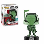 Star Wars - Boba Fett Green Chrome SDCC19 Pop! Vinyl Figure - Packshot 1