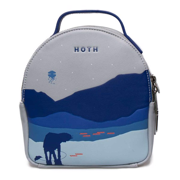 Star Wars - Hoth Loungefly Mini Backpack With Coin Pouch - Packshot 1
