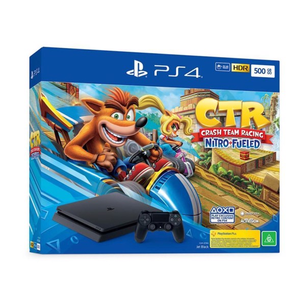 PlayStation 4 1TB Crash Team Racing Console + Extra Controller - Packshot 2