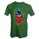 DC Comics - Batman Scarf Christmas T-Shirt - XXL - Packshot 1