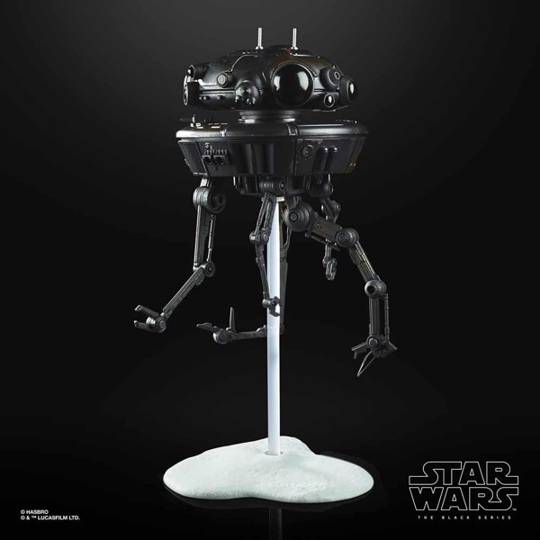 Star Wars - The Black Series - Imperial Probe Droid Deluxe Action Figure - Packshot 4