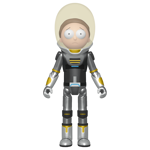 Rick and Morty - Space Suit Morty Metallic Action Figure - Packshot 1