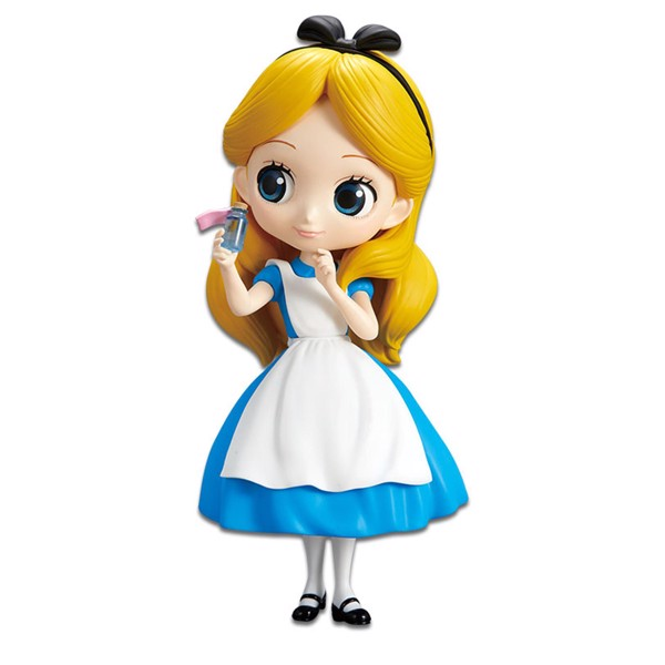 Disney - Alice In Wonderland - Alice with Bottle Q Posket Figure - Packshot 1