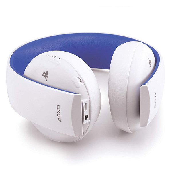 PlayStation Wireless Stereo Headset 2.0 - White - Packshot 3